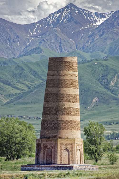 Kyrgyzstan Tower Weir Building Architecture