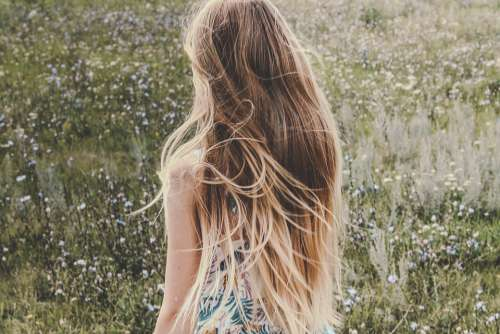 Girl Hair Beautiful