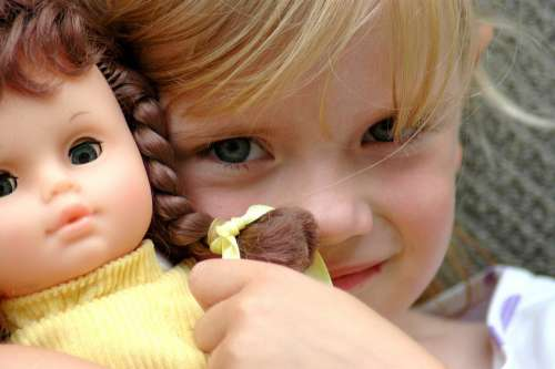 Child Baby Girl Doll Toy