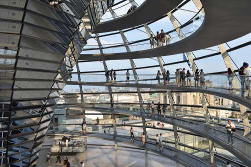 Berlin Architecture Modern Reichstag Germany