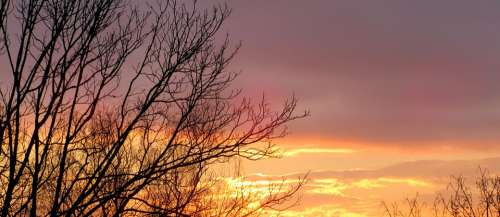 Dawn Light Morning Sky Heaven