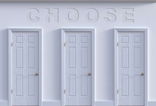 Choose Decision Opportunity Decide Choices