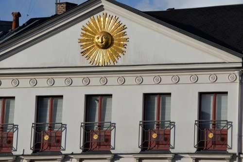 Facade Windows Sun Architecture Building Window
