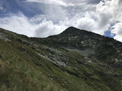 Pizzo Vogorno From Bardughè Alpine Route Alps Alpine