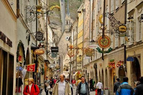 Salzburg Vacations Austria Tourism Travel Europe