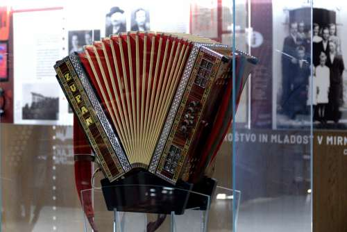 Musical Instrument Accordion Melody Music