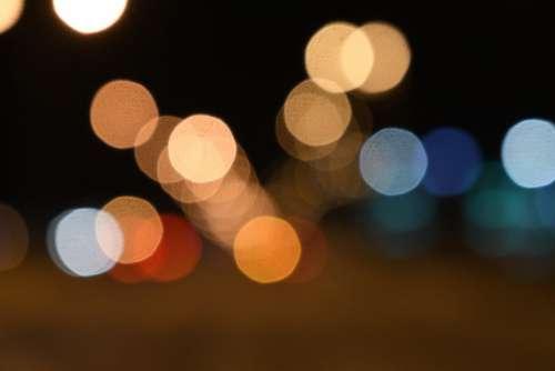 Bokeh Lights Blur Colorful Texture Lighting