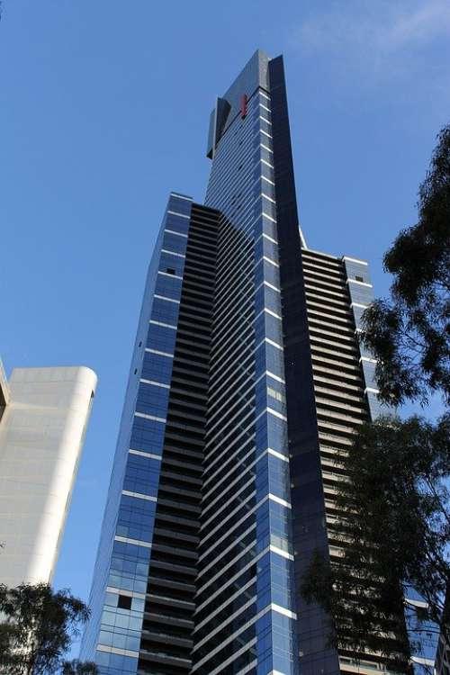 Eureka Tower Australia Melbourne City Architecture