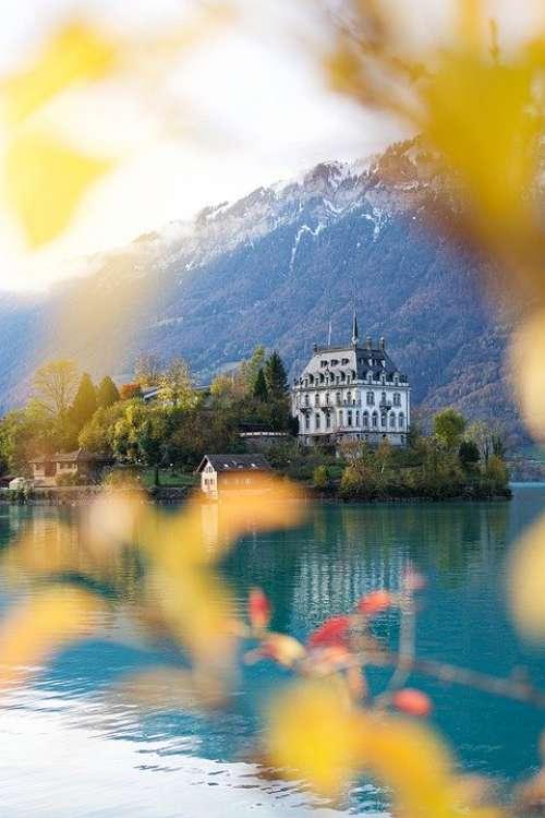 Iseltwald Bern Brine Switzerland Swiss Lake Brienz