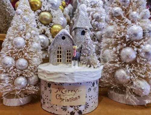 White On White Merry Christmas