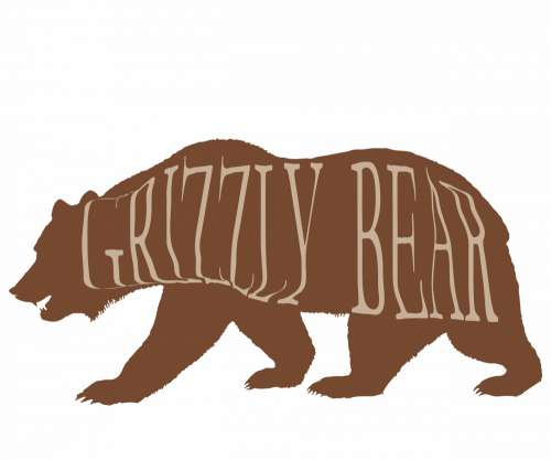 Bear Clip Art Silhouette