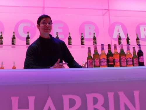 beer bartender barista Harbin Beer Museum tourism