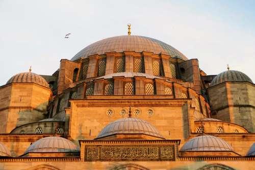 architecture mosque minaret dome religion