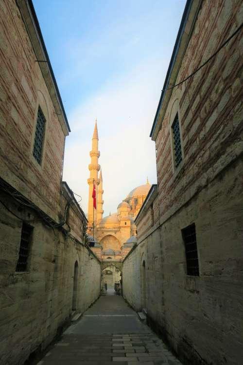 mosque masjid minaret dome architecture