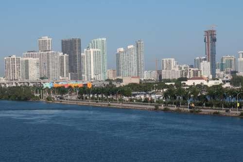 sky town city landmark urban area