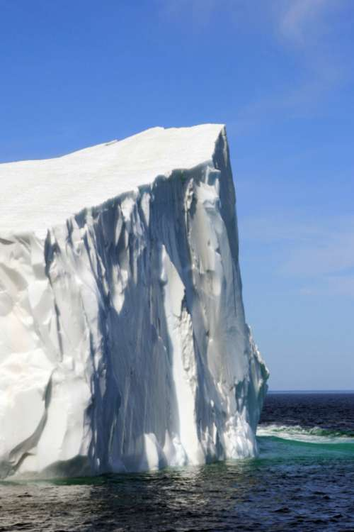 iceberg ocean sea arctic floating