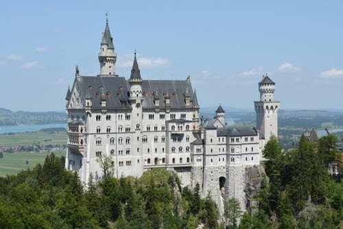 castle architecture building neuschwanstein germany