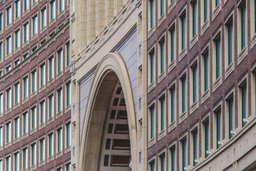 building exterior city urban windows