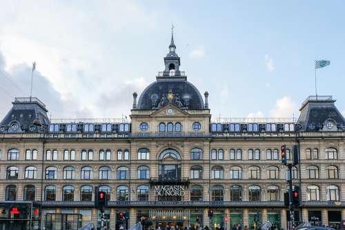 Front View of Magasin Du Nord, Copenhagen