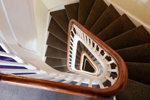 Spiral Staircase Inside the Amber Museum, Copenhagen