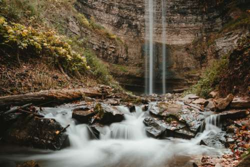 Water Falls To Falls Photo