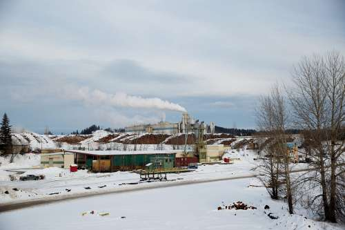 Snowy Industry Photo