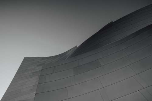 Curved Modern Building Photo