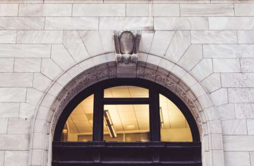 Arch Building Entrance Free Photo
