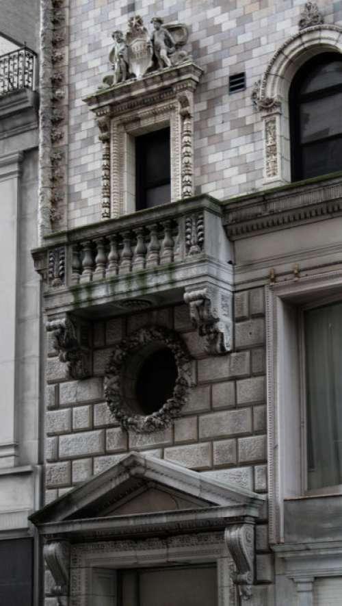Ornate City Building Free Photo