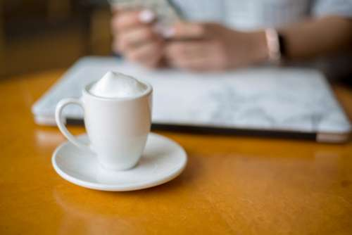 Coffee Work Table Free Photo
