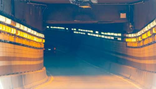 City Road Tunnel Free Photo