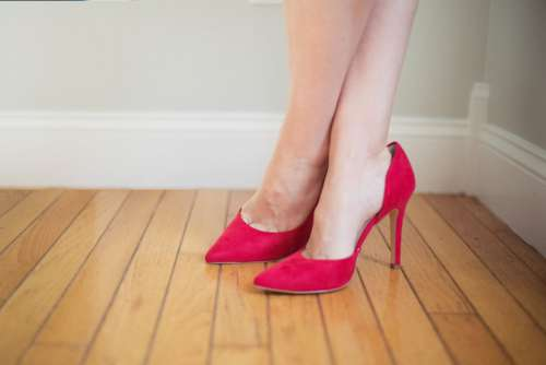 Heels Woman Red Free Photo