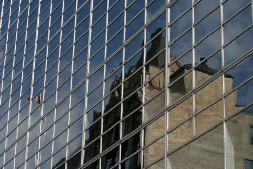 Glass Building City Free Photo