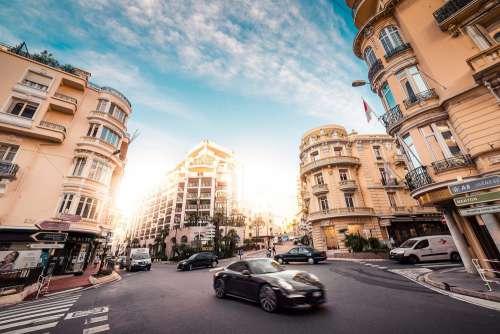 Rich Streets of Monaco Free Photo