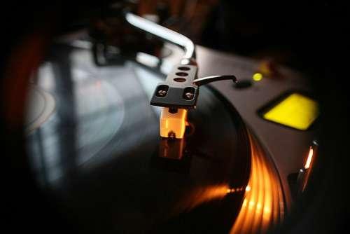 Dj Vinyl Music Turntable Audio Record Sound