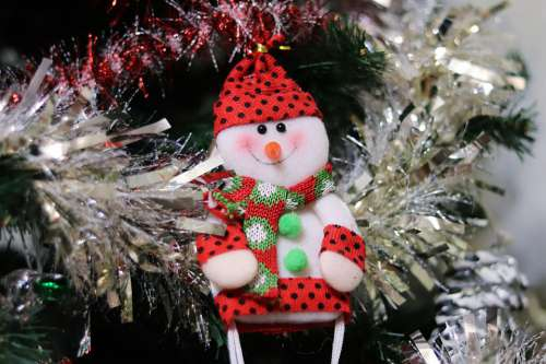 Christmas Snowman Holiday In Winter Ornament Toys