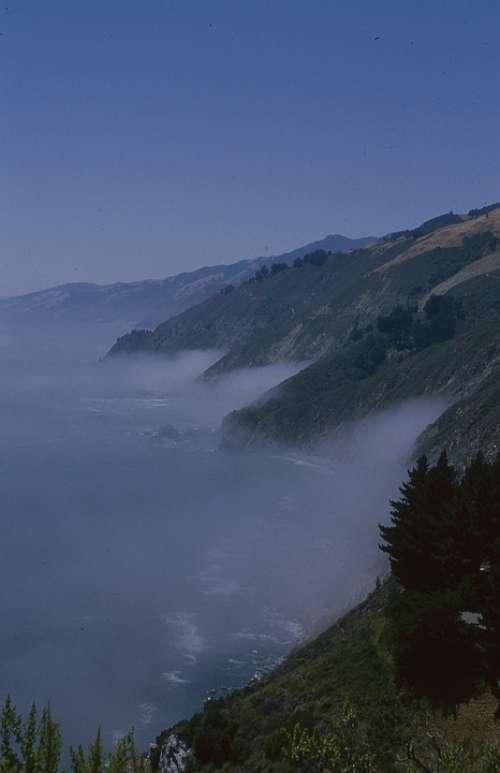 Big Sur California Ocean Coast Landscape Nature