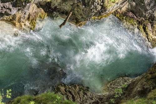 Leutasch Tirol Austria Water Mountains Sky Alps