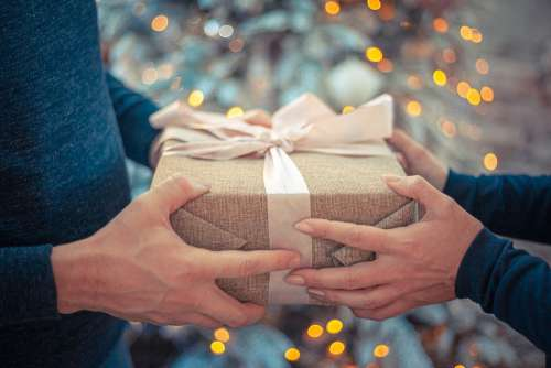 Gift New Year'S Eve Congratulation Christmas