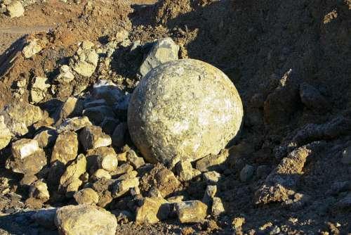 Eifel Rock Ball Nature Quarry