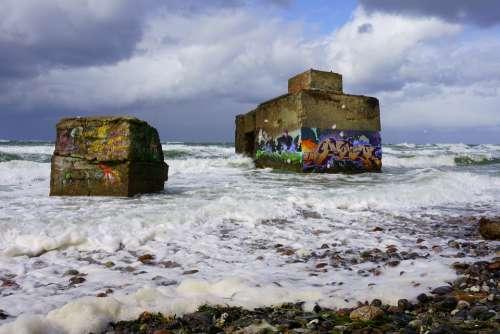 Bunker Vacations Baltic Sea Beach Sand Coast Sea