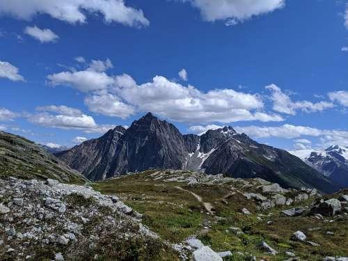 Glacier National Park Canada Hermit Trail Hiking