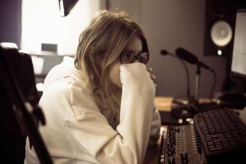 Sound Engineer Studio Music Recording Audio