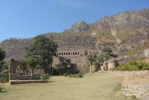 Bhangadh Fort Haunted Castle Scary Creepy Horror