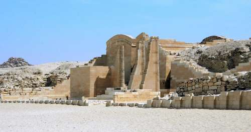 Egypt Giza Saqqarah Djoser Temple Funerary