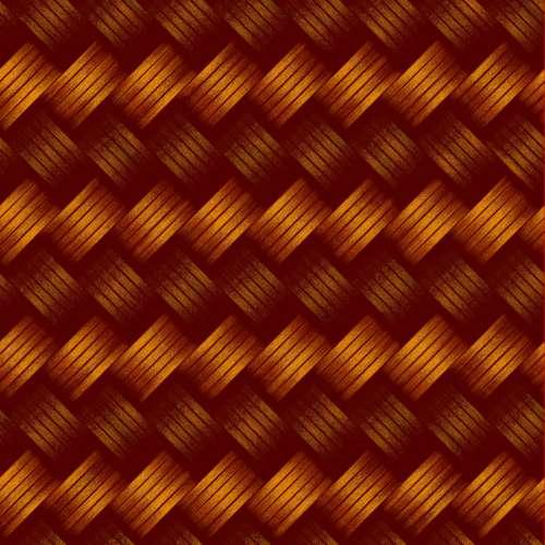Orange Weave Background Seamless
