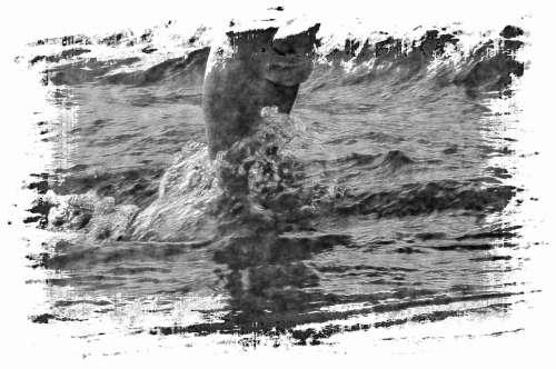 Tide Rushing Over Feet