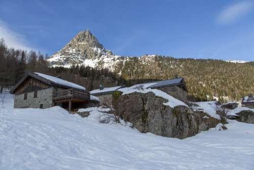 Alpine Village. France