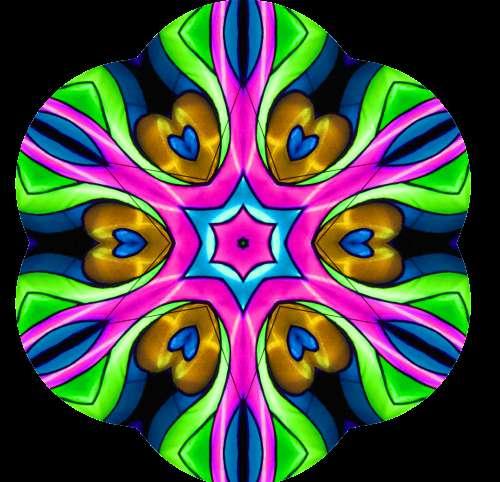 Heart Mandala PNG