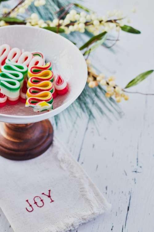 christmas ribbon candy holiday festive